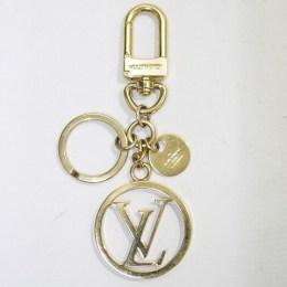 LOUIS VUITTON [ルイ ヴィトン]バッグ チャーム・LV サークル/ゴールド/M68000