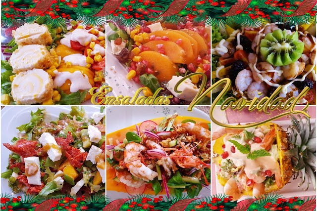 6 ensaladas especiales para navidad