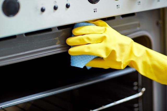 Limpiar horno sin esfuerzo