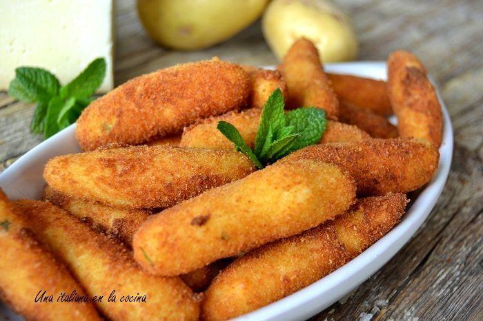 Croquetas italianas de patata