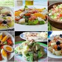 6 Ensaladas frescas y saludables