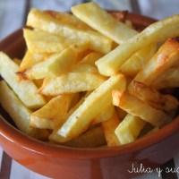 Como hacer patatas fritas en el horno