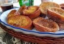 Torrijas tradicionales con azúcar o miel