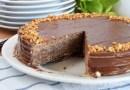 Tarta de obleas y chocolate muy fácil