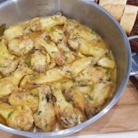 Alitas de pollo al limón
