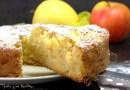 Bizcocho de manzana francés