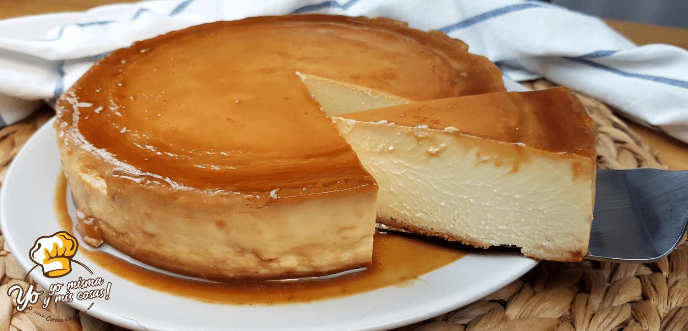 Tarta de queso cremosa, FABULOSA