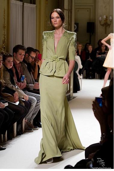 couture fashion designer, george hobeika