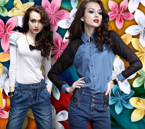 jeans denim for womens