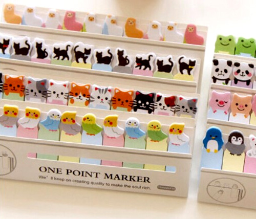 DIY Mini Cute Cartoon Animal Memo pad Cat Panda Music Post It Note Paper Stickers Stationery Free shipping.