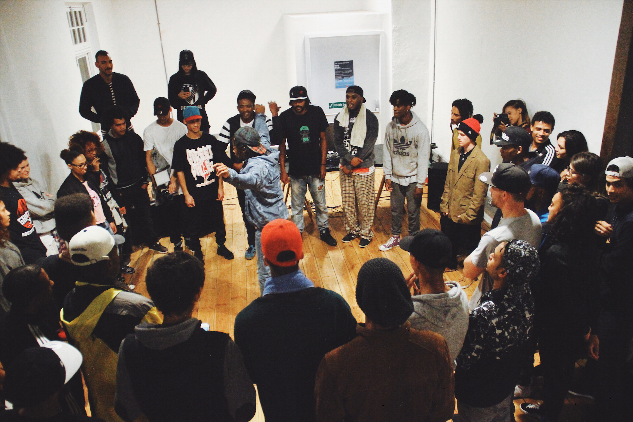 A scene from Creative Nestlings' IROK the Streets - Dance Cypher, Cape Town. Courtesy of Creative Nestlings