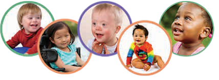 Four images of little kiddos