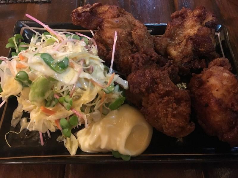 奈良で食べられるから揚げ⑮ バルNORI 鶏のから揚げ