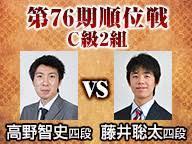 将棋の藤井聡太四段の結果は(今日現在)?【速報】高野智史戦、順位戦