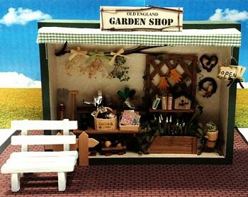 OLD ENGLAND GARDEN SHOP ガーデンショップ ミニチュア ハンドメイド フェリシモ
