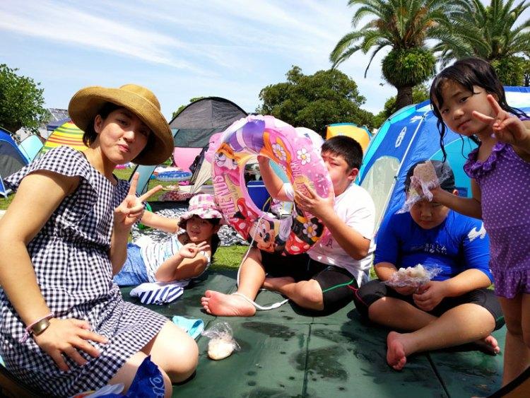 サンビーチ日光川は名古屋のハワイです