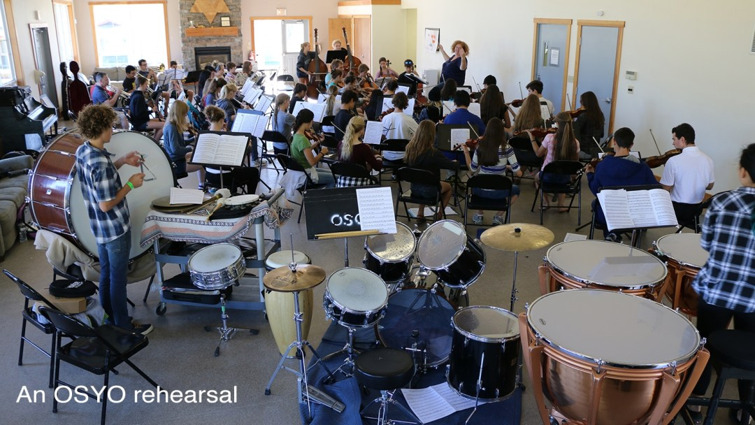 OSYO Rehearsal picture