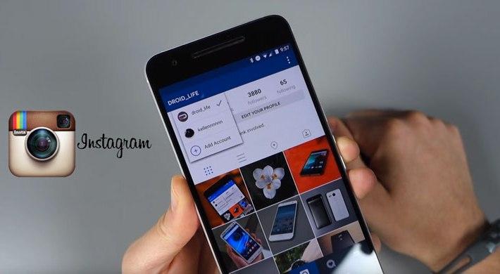 instagram varios usuarios