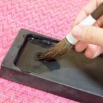 書道の筆が割れる原因は洗い方に!書き初め後の道具のお手入れ法を紹介