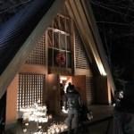 軽井沢高原教会クリスマスキャンドルナイト2018でハンドベル聴いてきた