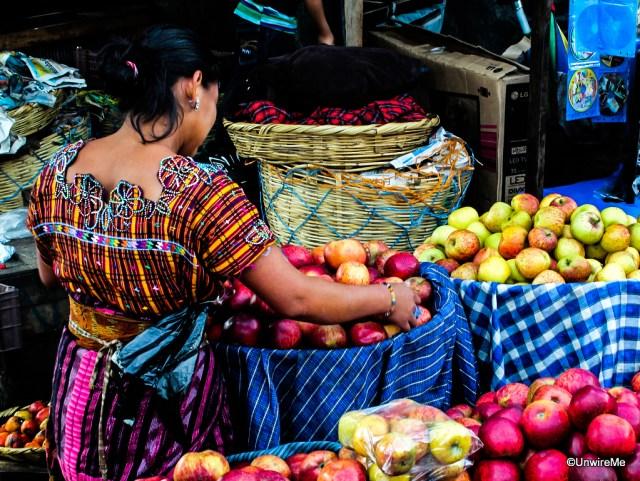 Farmers Market in Antigua Guatemala
