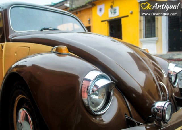 Parking in Antigua Guatemala
