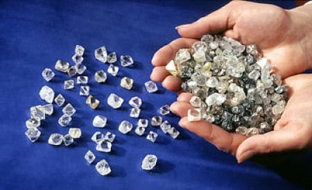 schmelzpunkt diamant
