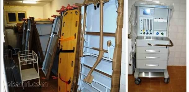 Parte do novo equipamento que será entregue para a população  Foto: Portal OKariri