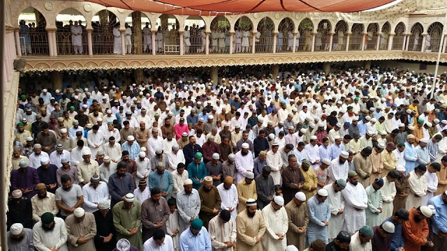 Juma tul wida naat Masjid Gulzaar e Habeeb Allamah Kaukab Noorani Okarvi