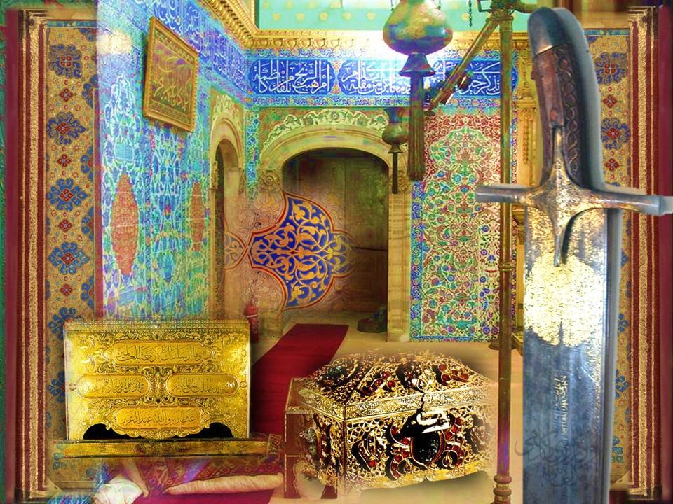 Islam,prophet,belonging,relics,topkapi,