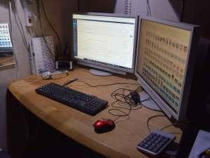 お店のパソコン