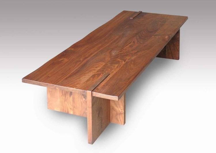 ウォールナット無垢センターテーブル