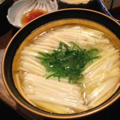 黄ニラの味噌汁
