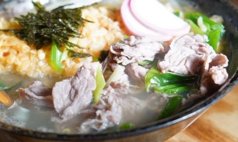 【のんき坊】特製うどんの肉