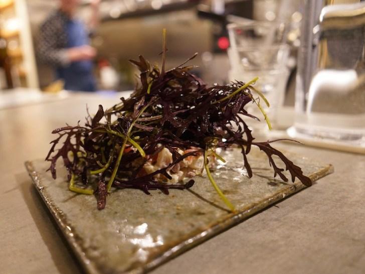 【ナチュラルワイン食堂okuto】小鯛のタルタルサラダ仕立て