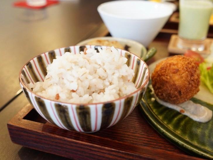 【白桃館】玄米ご飯