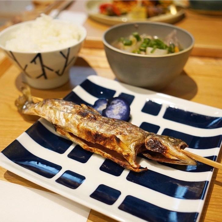 【naradewa】あまごの塩焼き定食