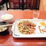 老舗の喫茶店・表町三丁目で野菜炒め定食を食べてきたよ!