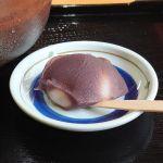 由加神社本宮で抹茶とあんころ餅を食べてきたよ!
