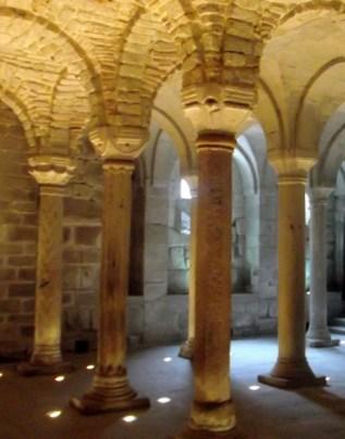 abbadia s. salvatore medieval crypt (6)