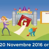 """""""G COME GIOCARE"""" / TORNA A FIERAMILACITY (18-20 NOVEMBRE) E LE SCUOLE ENTRANO GRATIS!"""