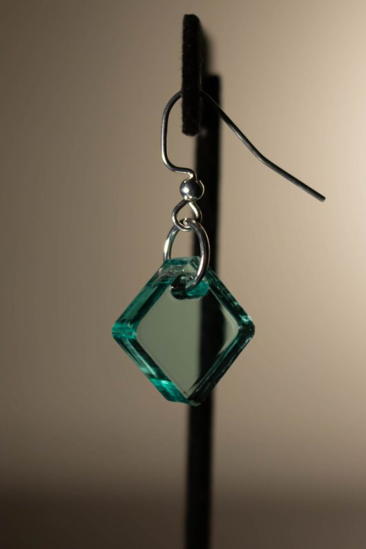 Light Teal Dangle Earring