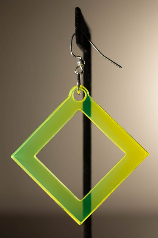 Quadratum Dangle Earring