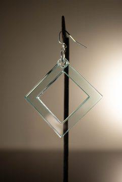 Quadratum Dangle Earring