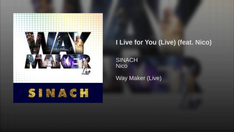 I live For You By Sinach