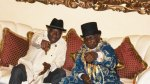 Jonathan Hosts Obasanjo in Otuoke