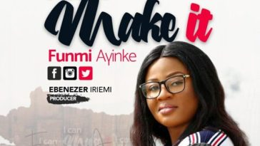 I Can Make It – Funmi Ayinke