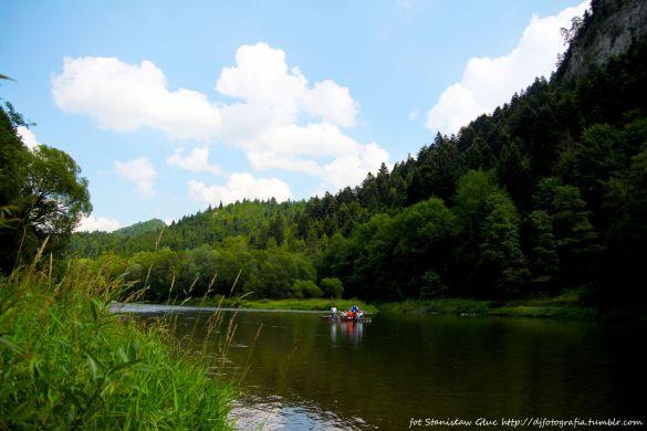 Spływ łodziami przełom Dunajca