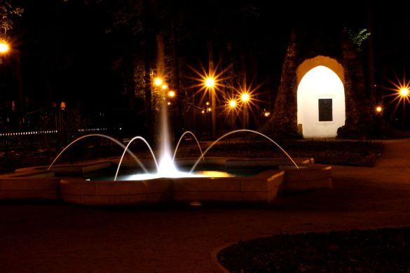 Fontanna park Dolny