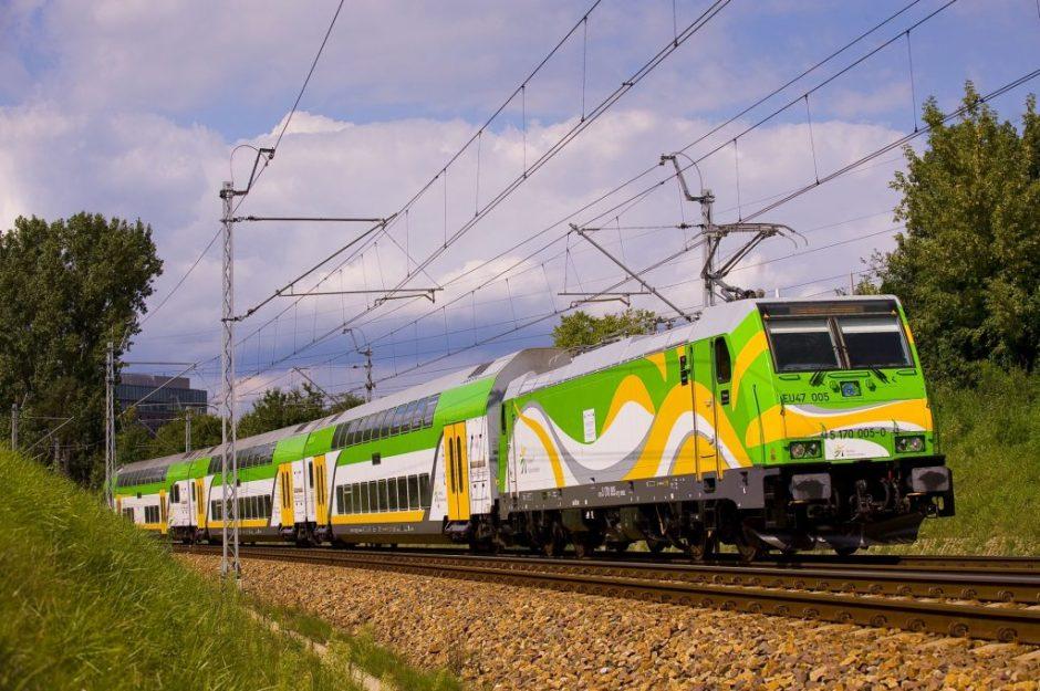 Bombardier push-pull Koleje Mazowieckie pociąg Dragon